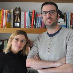 אסף בייזר ונטלי מרכוס הם מהתסריטאים המובילים בישראל והיוצרים של